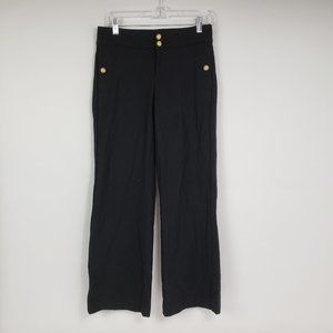 Juicy Couture Wool Spandex Pants Gold Buttons